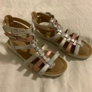 Hanna Andersson Lena-H size 2M Gladiator Sandals